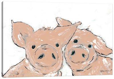 Pigs Canvas Art Print
