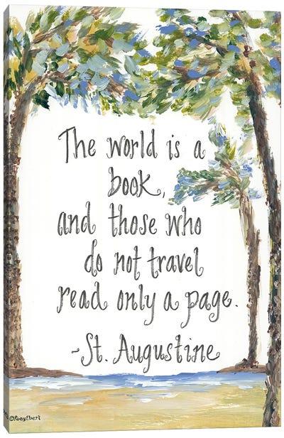 Travel St. Augustine Canvas Art Print
