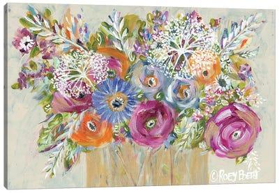 Golden Vase I Canvas Art Print