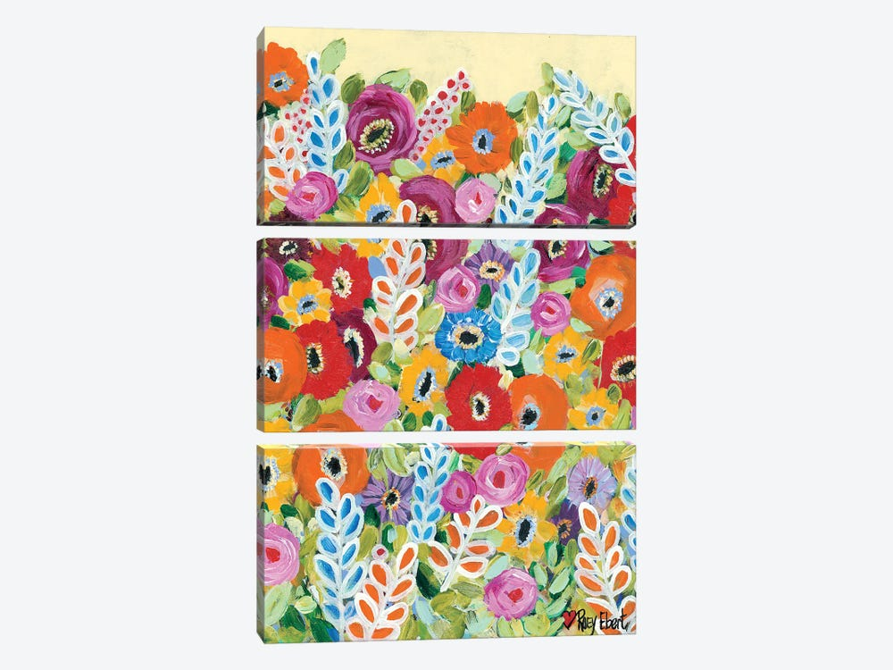 Whimsy by Roey Ebert 3-piece Canvas Art Print