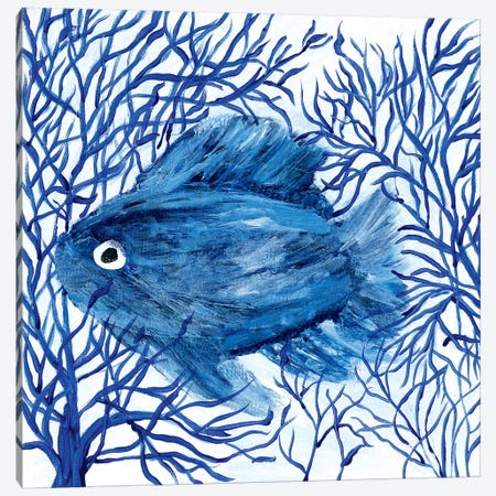Peek-A-Boo Canvas Print #REB6} by Roey Ebert Art Print
