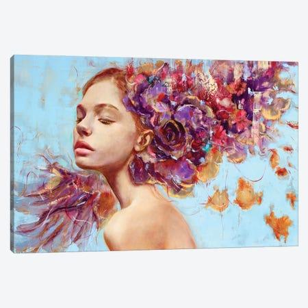 Autunno Canvas Print #REC15} by Rosso Emerald Crimson Canvas Artwork