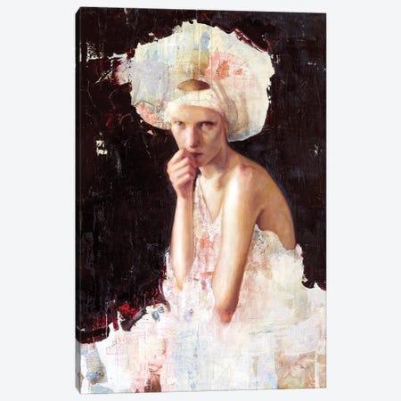Amarcord Canvas Print #REC4} by Rosso Emerald Crimson Canvas Artwork