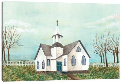 Country Church III Canvas Art Print