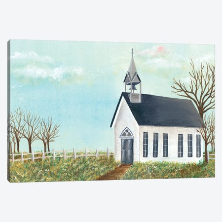 Country Church IV Canvas Print #REG106} by Regina Moore Canvas Art