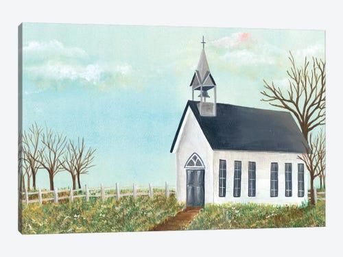 Country Church Iv Canvas Artwork By Regina Moore Icanvas