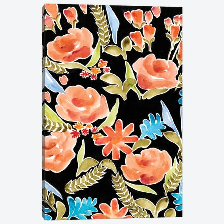 Floral Assembly I Canvas Print #REG107} by Regina Moore Canvas Wall Art