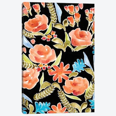 Floral Assembly I Canvas Print #REG107} by Regina Moore Canvas Wall Art