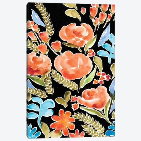 Floral Assembly II Canvas Print #REG108} by Regina Moore Art Print