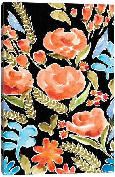 Floral Assembly II Canvas Art Print