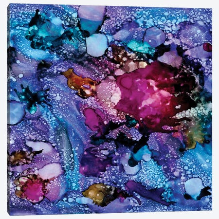 Purple Outburst I Canvas Print #REG119} by Regina Moore Canvas Artwork