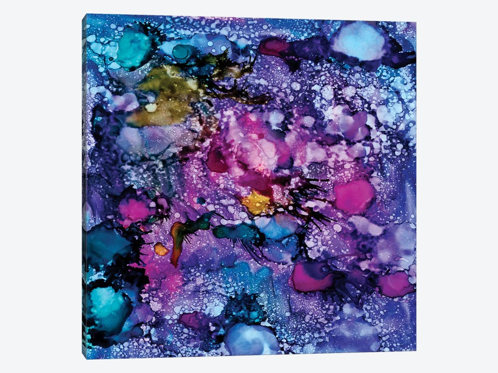 Purple Outburst II by Regina Moore 1-piece Canvas Artwork
