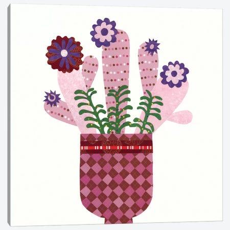 Cheerful Succulent III Canvas Print #REG12} by Regina Moore Art Print