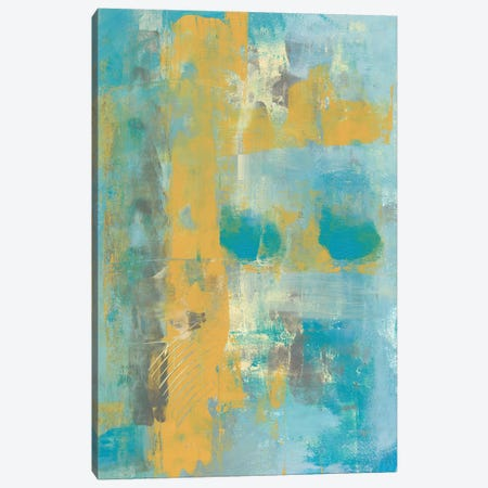 Caribbean Sea I Canvas Print #REG131} by Regina Moore Canvas Artwork