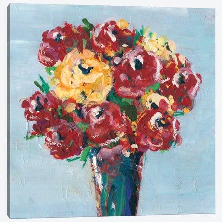 Chaos Floral III Canvas Print #REG135} by Regina Moore Art Print