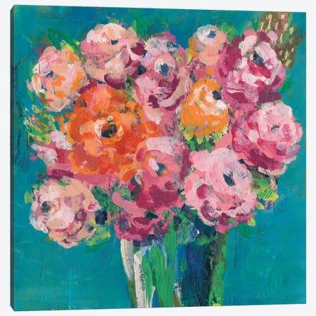 Chaos Floral IV Canvas Print #REG136} by Regina Moore Art Print