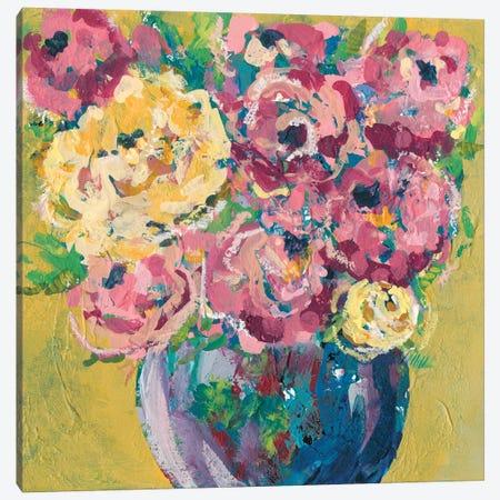 Chaos Floral V Canvas Print #REG137} by Regina Moore Canvas Print