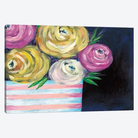 Cotton Candy Floral II Canvas Print #REG139} by Regina Moore Canvas Art
