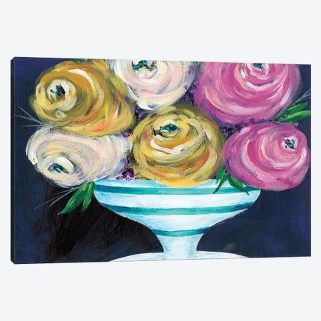 Cotton Candy Floral III Canvas Print #REG140} by Regina Moore Canvas Art Print