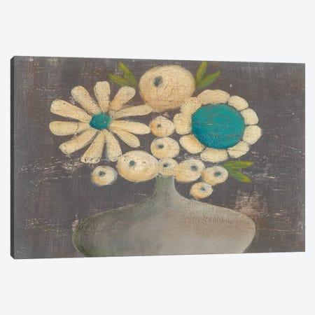 Crackled Bouquet I Canvas Print #REG143} by Regina Moore Canvas Art Print