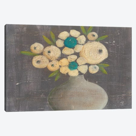 Crackled Bouquet II Canvas Print #REG144} by Regina Moore Canvas Wall Art