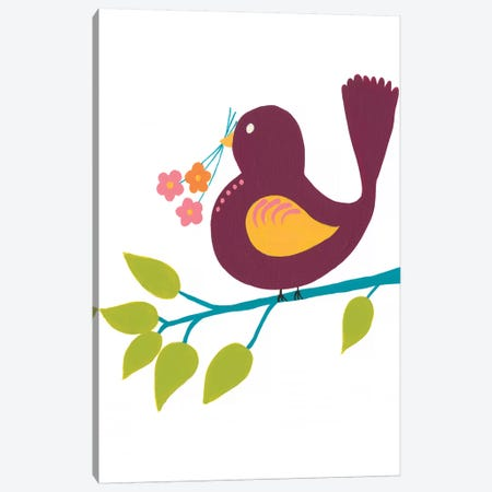 Cute Bird IV Canvas Print #REG150} by Regina Moore Canvas Art
