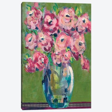 Feisty Floral III Canvas Print #REG155} by Regina Moore Canvas Art Print