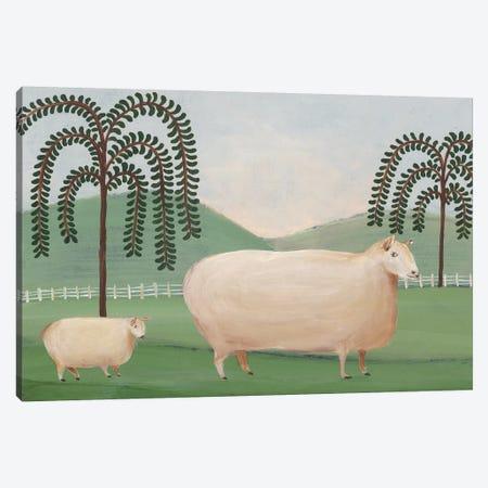 Folk Farm I Canvas Print #REG160} by Regina Moore Canvas Art Print