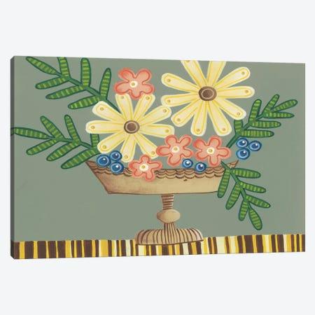 Full of Fun Bouquet II Canvas Print #REG164} by Regina Moore Canvas Artwork
