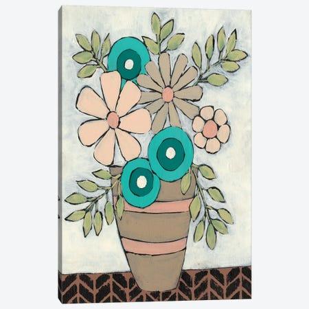 Mid Summer Bouquet I Canvas Print #REG169} by Regina Moore Canvas Print