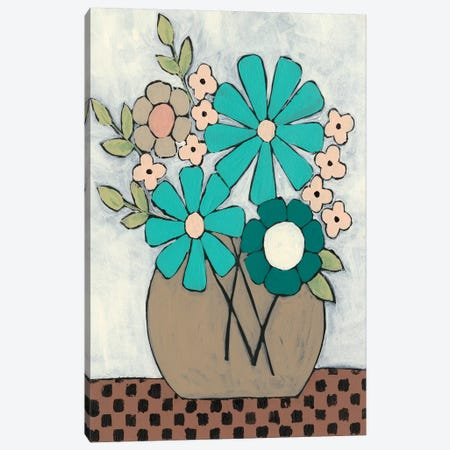 Mid Summer Bouquet II Canvas Print #REG170} by Regina Moore Canvas Artwork