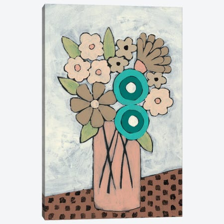 Mid Summer Bouquet III Canvas Print #REG171} by Regina Moore Canvas Artwork