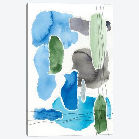 Organic Groove I Canvas Print #REG172} by Regina Moore Canvas Art