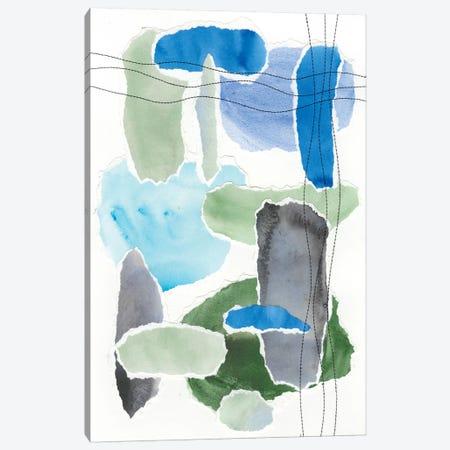 Organic Groove II Canvas Print #REG173} by Regina Moore Canvas Art