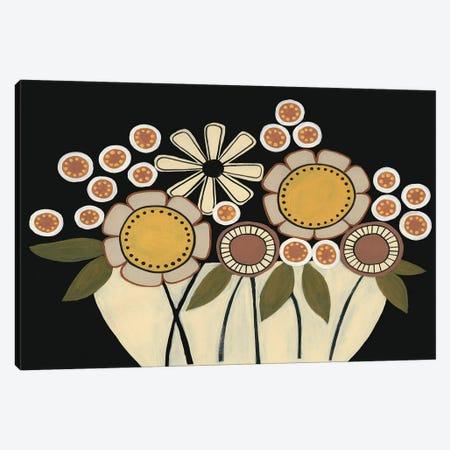 Summer Garden Floral I Canvas Print #REG184} by Regina Moore Canvas Wall Art