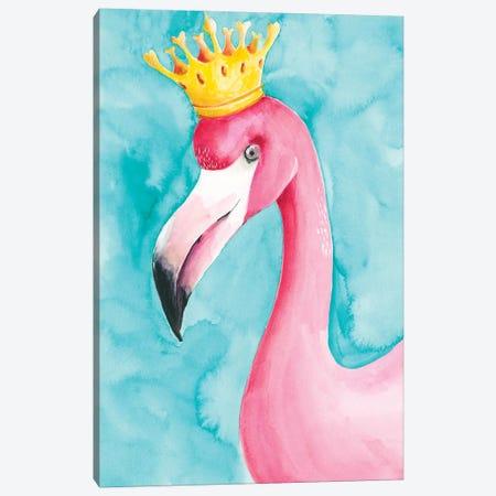 Flamingo Queen I Canvas Print #REG188} by Regina Moore Art Print