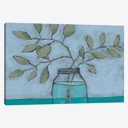 Jar of Stems II Canvas Print #REG194} by Regina Moore Art Print