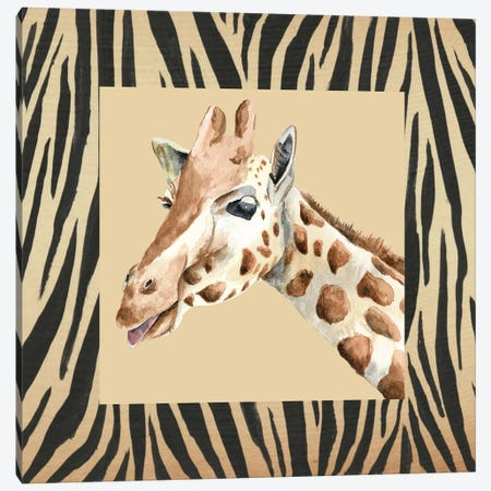 Safari II Canvas Print #REG196} by Regina Moore Canvas Art Print