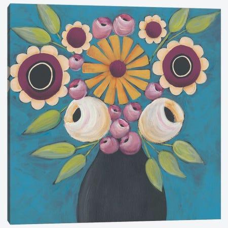 Flowers Galore I Canvas Print #REG197} by Regina Moore Canvas Print