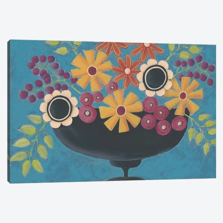 Flowers Galore II Canvas Print #REG198} by Regina Moore Canvas Art