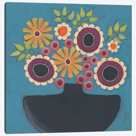 Flowers Galore III Canvas Print #REG199} by Regina Moore Canvas Artwork
