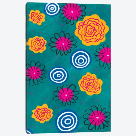 Flower Pop II Canvas Print #REG19} by Regina Moore Canvas Print