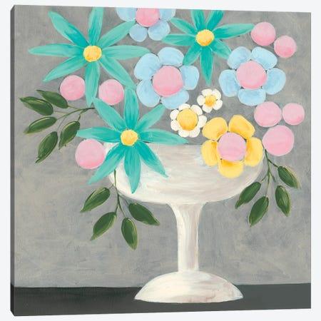 Nouveau Flowers II Canvas Print #REG209} by Regina Moore Canvas Wall Art