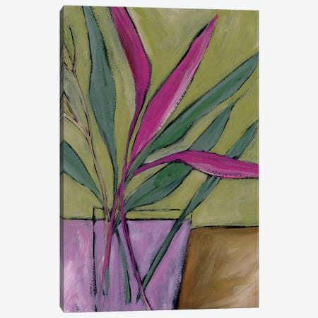 Fuchsia Stems I Canvas Print #REG223} by Regina Moore Canvas Art