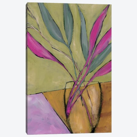 Fuchsia Stems II Canvas Print #REG224} by Regina Moore Canvas Art Print