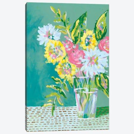 Pastel Blossoms I Canvas Print #REG225} by Regina Moore Art Print