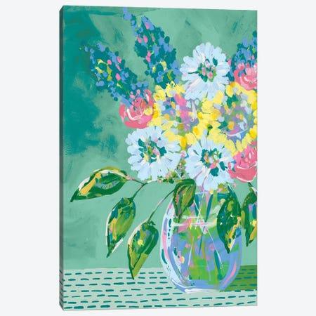 Pastel Blossoms II Canvas Print #REG226} by Regina Moore Art Print