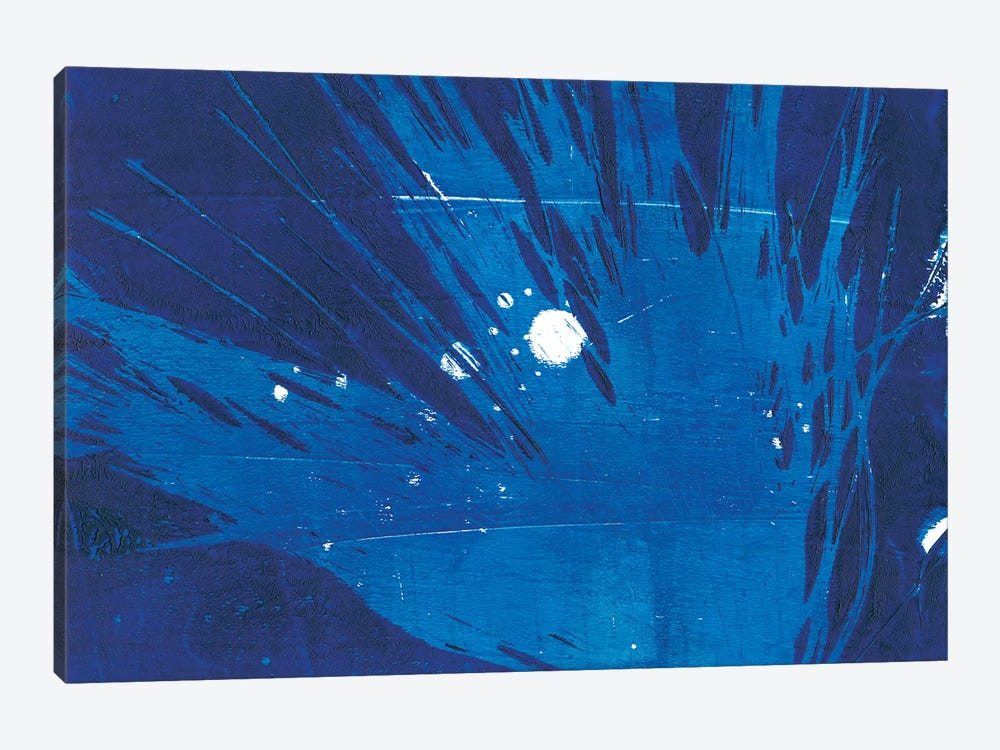 Indigo Burst I by Regina Moore 1-piece Canvas Wall Art