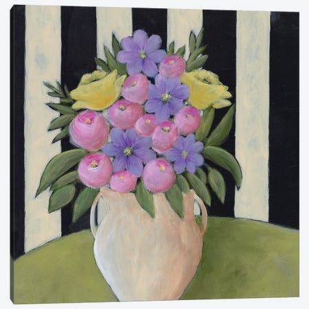 Subtle Bouquet I Canvas Print #REG244} by Regina Moore Art Print