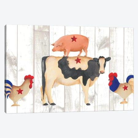 America Collection D Canvas Print #REG248} by Regina Moore Canvas Art